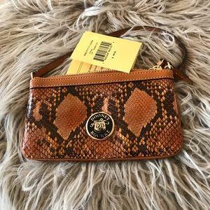 Dooney & Bourke Bags - Downey & Bourne Clutch - snake skin (New)